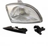 H4 Scheinwerfer rechts TYC für FIAT Seicento 98-10