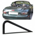 Überrollbügel Roadsterbügel Edelstahl Schwarz für Mazda MX-5 Miata NA NB 89-05