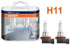 Osram Silverstar 2.0 H11 55W 12v Halogen 2 Stück IM Duopack