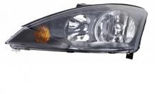 H1 / H7 Scheinwerfer schwarz links TYC für Ford Focus I 01-04