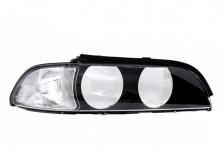 Scheinwerferglas Streuscheibe weiß rechts TYC für BMW 5er E39 95-00
