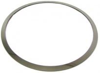 Edelstahl Umrandung Rahmen für Tankdeckel für Hummer H2 03-07