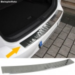 LADEKANTENSCHUTZ STOßSTANGENSCHUTZ EDELSTAHL FÜR BMW 3er E90 Limousine 05-11
