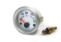 Wassertemperatur Anzeige Zusatz Instrument 52mm - silber