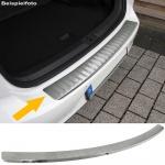 Ladekantenschutz Stoßstangenschutz Edelstahl matt für VW Tiguan ab 16