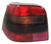 ROT SCHWARZE RÜCKLEUCHTE GTI LINKS FÜR VW Golf 4 Limousine