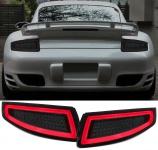 LED Lightbar Rückleuchten schwarz smoke für Porsche 911 997 Coupe Cabrio 04-08
