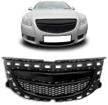 Kühlergrill Sport Grill ohne Emblem OPC schwarz für Opel Insignia 08-13