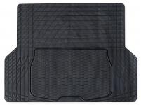Kofferraummatte PVC Gummi universal zuschneidbar schwarz 108x140 CM