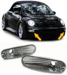 KLARGLAS BLINKER CHROM FÜR VW New Beetle 98-06