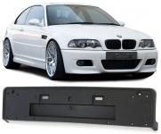 Kennzeichen Nummernschild Halterung Halter passend für BMW 3ER E46 M3 Stoßstange