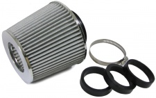 Performance Sport Luftfilter mit Adapter 60/65/70mm silber