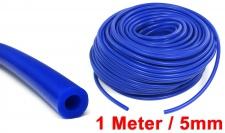 Performance Silikon Schlauch universal Länge 1M blau 5mm