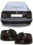 Klarglas Rückleuchten Kristall schwarz für BMW 5er E39 Limousine 95-00