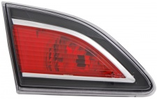 NEBELSCHLUSS LEUCHTE LAMPE LINKS TYC FÜR MAZDA 3 Limousine BL 09-