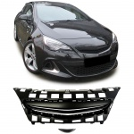 Sport Grill Kühlergrill ohne Emblem schwarz für Opel Astra J 3Türer GTC ab 12