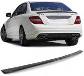 Carbon Heckspoiler Sport Optik für Mercedes C Klasse W204 Limousine 07-15