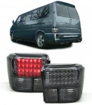 LED RÜCKLEUCHTEN SMOKE SCHWARZ FÜR VW Bus Transporter T4 90-03