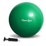 Sport Fitness Gymnastikball Sitz Ball mit Pumpe Größe L 65cm grün