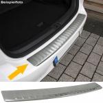 Ladekantenschutz Stoßstangenschutz Edelstahl matt für BMW X6 E71 E72 ab 08