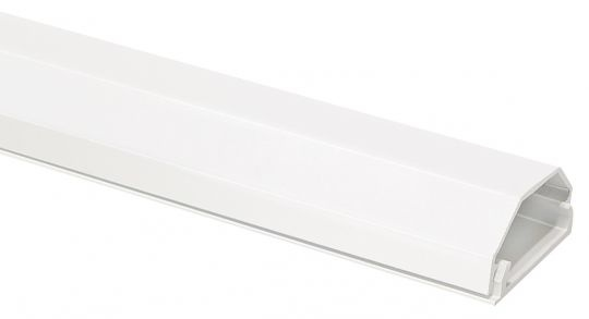 Kabelkanal Aluminium weiß B:33mm L:100cm 2 Teilig