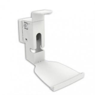 2 Stück Lautsprecher Wandhalter für SONOS PLAY 5 Gen.2 weiß
