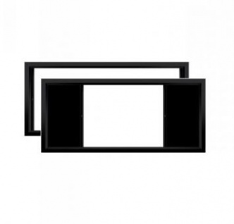 Rahmenleinwand WS-GR Multiformat Frame Format 21:9, hor. Mask. 16:9 & 4:3 248x105cm