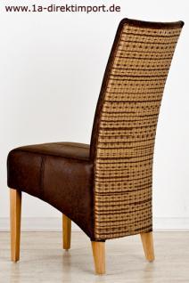 exklusiver loomstuhl marbella leder optik loom kaufen bei 1a direktimport. Black Bedroom Furniture Sets. Home Design Ideas