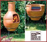 MEXICO Grillkamin / Terassenofen, groß, Mexiko