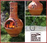 Großer Mexikoofen/Gartenkamin aus Terracotta