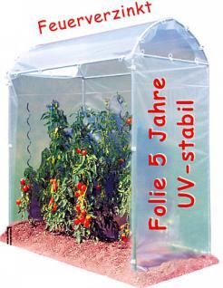 Tomatenhaus Stahlrahmen feuerverzinkt