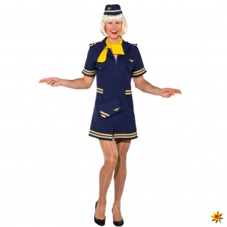 Männerballett Kostüm Stewardess
