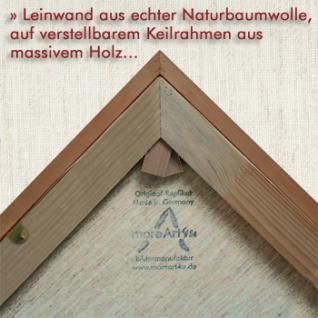 Klimt, Gustav - Der Kuss - Leinwand Reproduktion - Vorschau 3