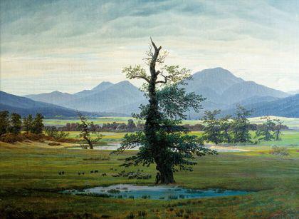 Friedrich,C.D. - Der einsame Baum - fineArt Gicleé