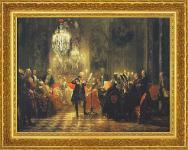 Menzel; Flötenkonzert Friedrich II. König Preußen