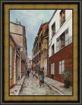 Utrillo - Str. St. Rustice - Leinwand-Reproduktion