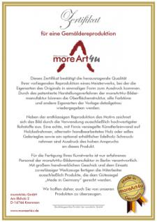 Da Vinci - Mona Lisa: Leinwand Reproduktion - Vorschau 4