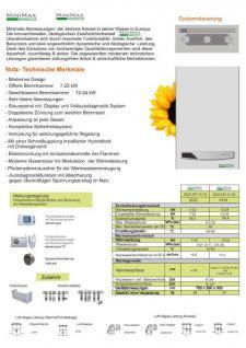 Gasheizung Termet MiniMax Eco Turbo - Kombitherme Heiztherme 7-22KW - Heizen & Warmwasser - Vorschau 3