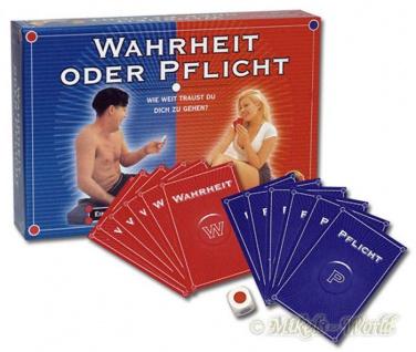 Erotik Game Wahrheit oder Pflicht - Heißes Partner Spiel