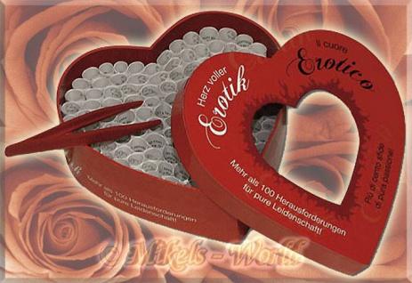 Herz voller Erotik - Prickelnd sinnliches Partner Spiel