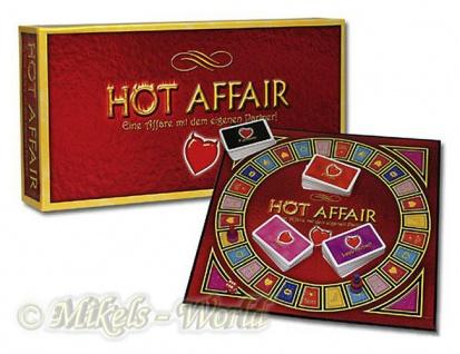Erotik Partner Brett-Spiel HOT Affair - Brettspiel Game