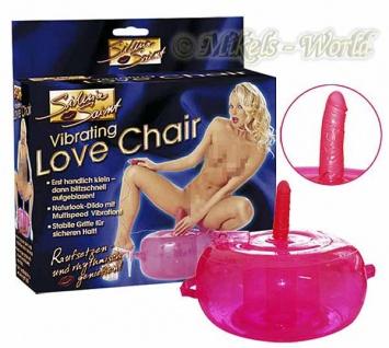Silvia Saint Love Vibrating Chair