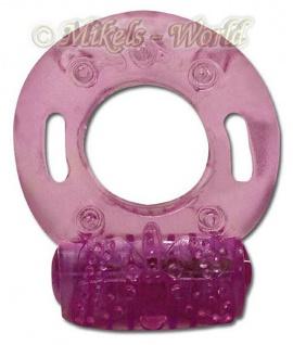 Einmal-Penisring vibrierend pink