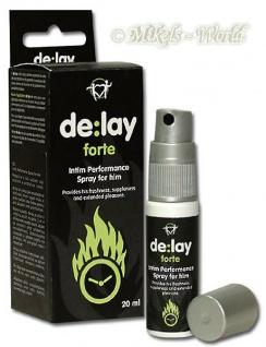 de:lay Verzögerungs-Spray für IHN - 20 ml