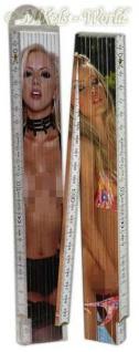 Erotischer 2-Meter-Zollstock