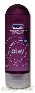 Durex Play 2 in 1 Erotik Massage Gleitgel - 200 ml