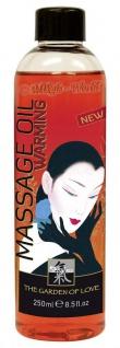 HOT SHIATSU - Shiatsu Massage Oil warming 250 ml
