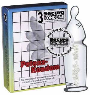 Secura Potenz Kondom