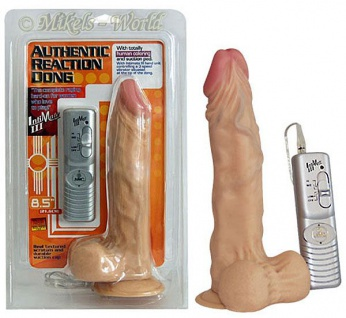 Vibrator Authentic Reaction Dong weiß