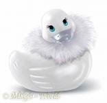 Bade-Ente I Rub my Duckie - Paris White Mini